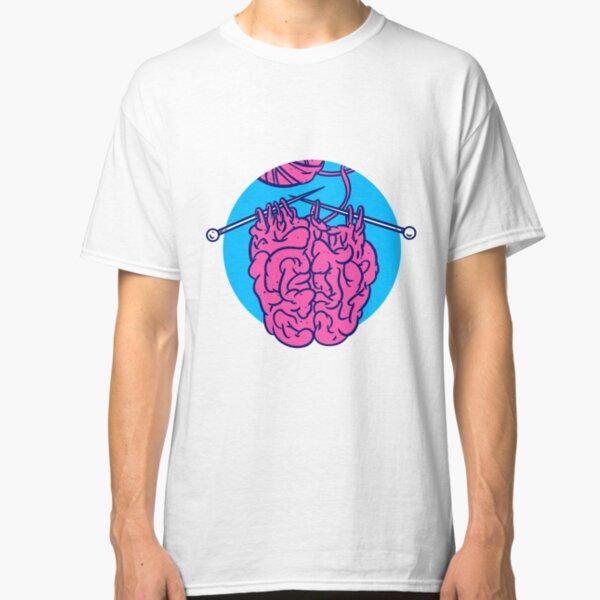 Knitting a brain Classic T-Shirt