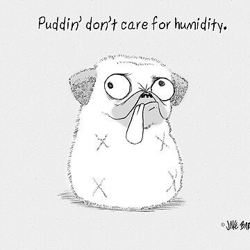 Puddin' don't care for humidity by PuddinDont
