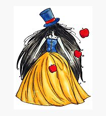 Who is the mad hatter ? Snow White | Blanche Neige  Photographic Print