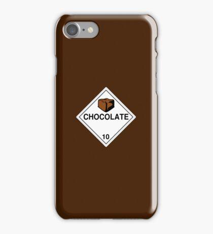 Chocolate: Hazardous! iPhone Case/Skin