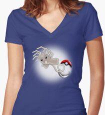 Xenomon Women's Fitted V-Neck T-Shirt