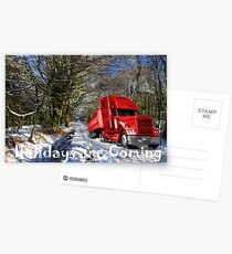 Holidays are coming  Postcards