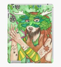 Two of pentacles iPad Case/Skin
