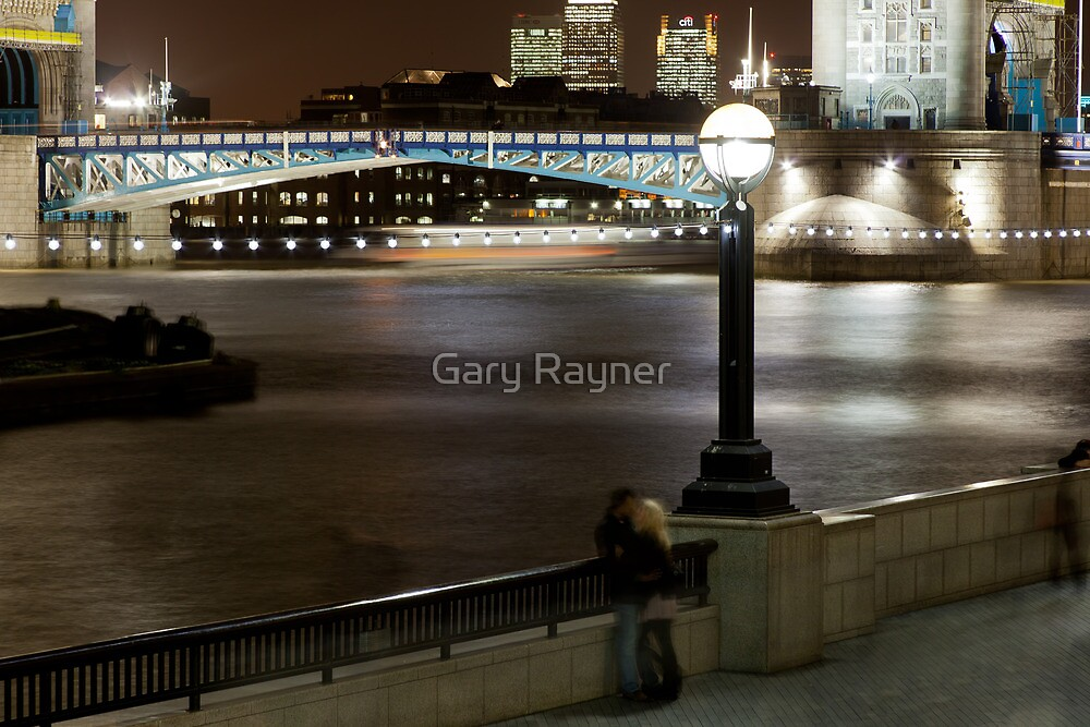 Ghostly embrace by Gary Rayner