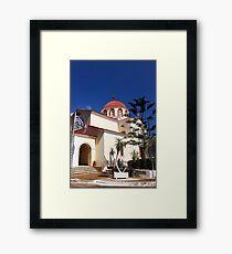 Church of Constandinos and Eleni  Framed Print