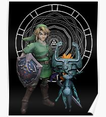 The Legend of Link and the Twilight Princess Poster