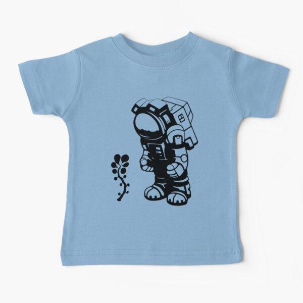Starlit Astronaut in Black - Kids version Baby T-Shirt
