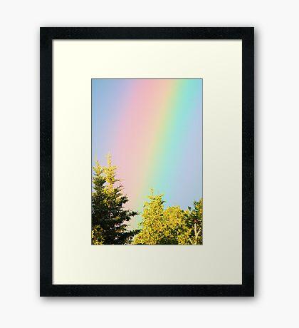 I Can Sing A Rainbow Framed Print