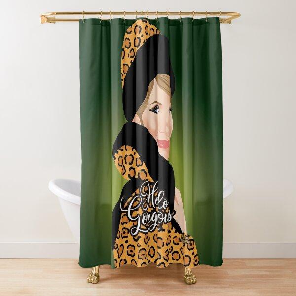 Leopard Shower Curtain