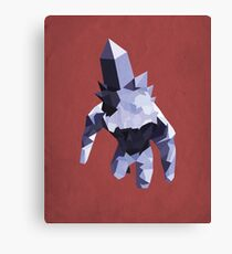 Crystal Golem Canvas Print