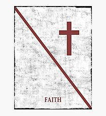 Christianity  Photographic Print