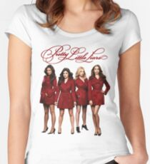 Pretty Little Liars - Redcoats - (Designs4You) edited Women's Fitted Scoop T-Shirt