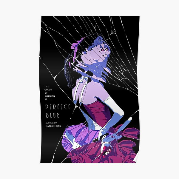 Perfect Blue 1997 Japanese Movie Poster Art Poster