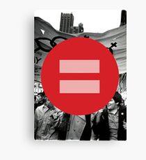Equal Love Stonewall Circle Canvas Print