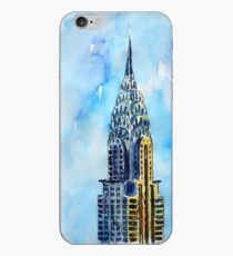 Solitary View Of Chrysler Building New York City iPhone Case