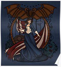 Elizabeth Nouveau Poster