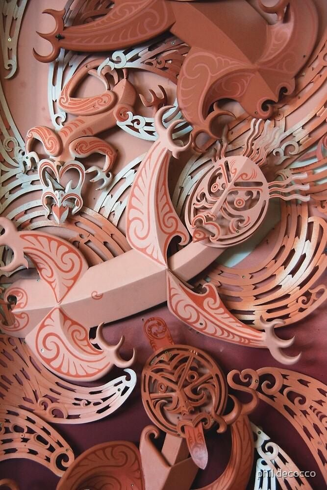 Maori Dancers by phil decocco