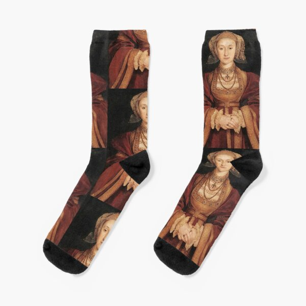 Wives of King Henry VIII, Anne of Cleves. Socks