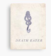 Death Eater Canvas Print