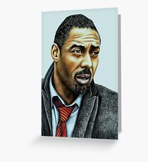 Idris Elba plays Luther Greeting Card