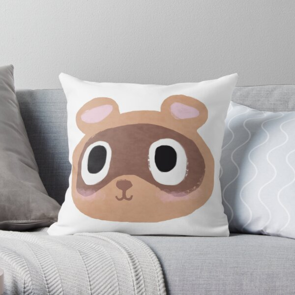 Timmy/Tommy Animal Crossing Throw Pillow