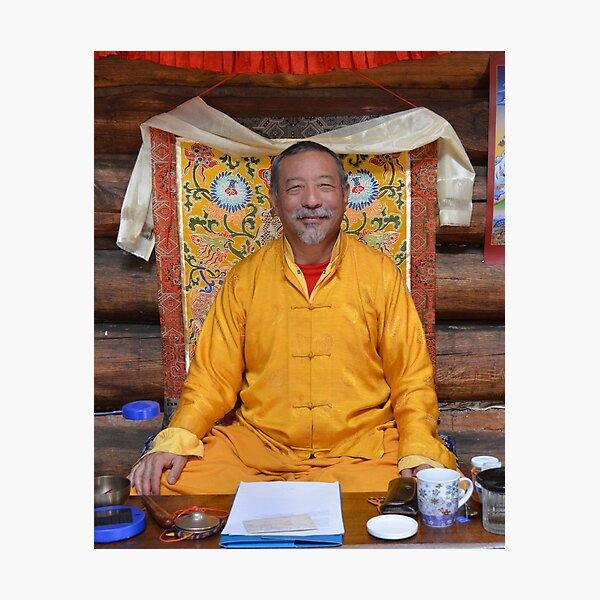 Our spiritual director, Zasep Tulku Rinpoche Photographic Print