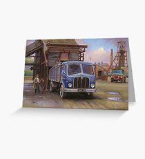 AEC Mercury Mk II  tipper Greeting Card