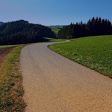 Country road through rural scenery II | landscape photography by patrickjobst