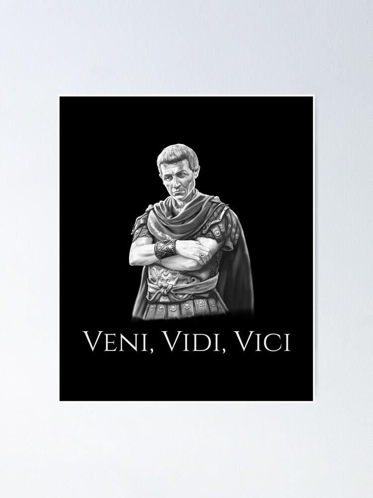 Vici Julius Caesar Vidi Veni Wall Quote