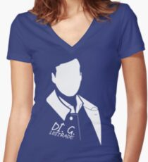 DI. Tee Lestrade Women's Fitted V-Neck T-Shirt