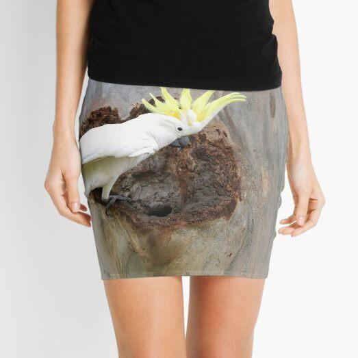 A Golden Crown Mini Skirt
