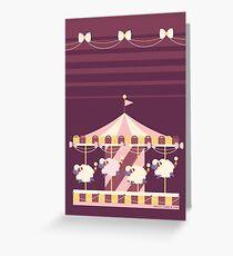 Mareep-Go-Round Greeting Card