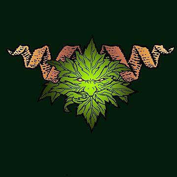 The Green Man by Elmarie