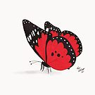 Red Butterfly by Kevin Dellinger