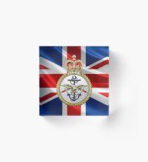 British Armed Forces Emblem 3D Acrylic Block