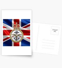 British Armed Forces Emblem 3D Postcards