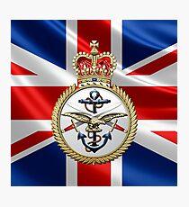 British Armed Forces Emblem 3D Photographic Print