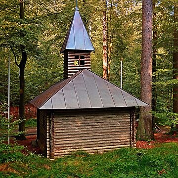 The old chapel in the forest | architectural photography by patrickjobst