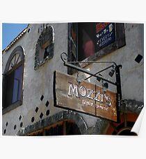 """ Mozzi's Saloon "" Poster"