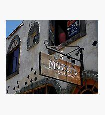 """ Mozzi's Saloon "" Photographic Print"