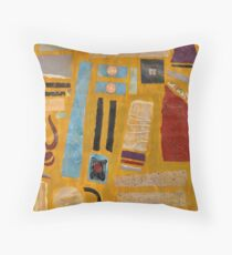 ruining ochre for the rest of us Throw Pillow