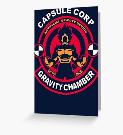 Gravity Chamber Greeting Card