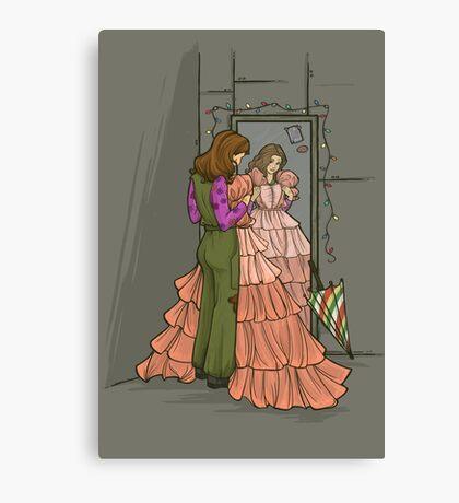 The Shindig Dress Canvas Print