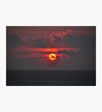 Sunset time Photographic Print