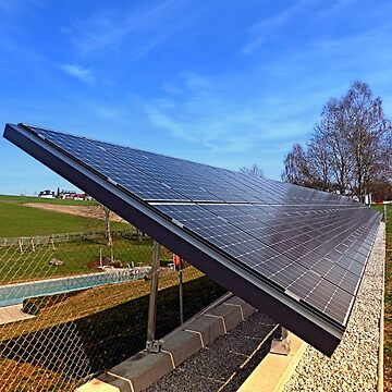 Solar panels in amazing perspective view | architectural photography by patrickjobst