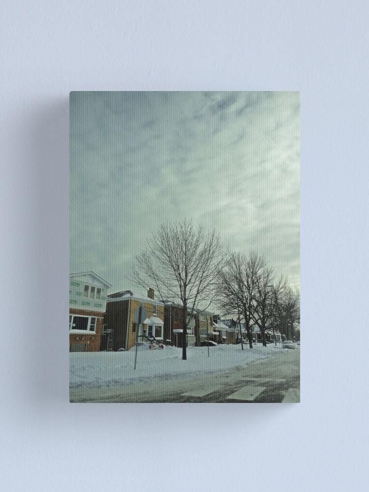 Alternate view of Winter Time Scene Canvas Print