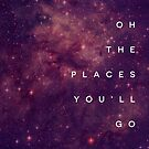 The Places You'll Go I by GalaxyEyes