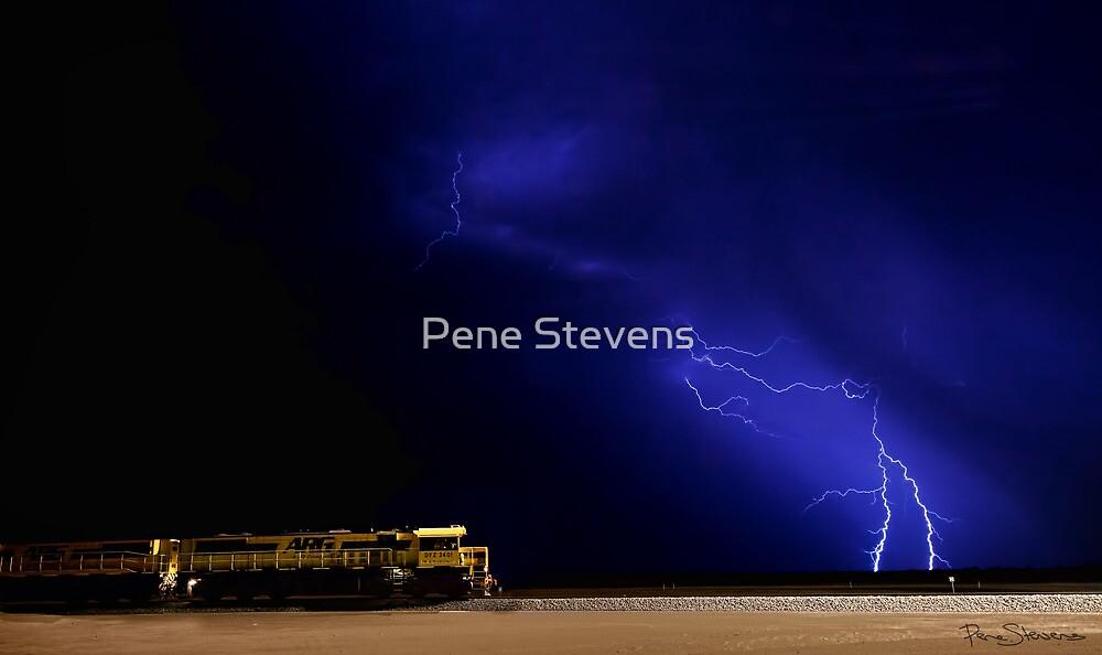 Electric Train  by Pene Stevens