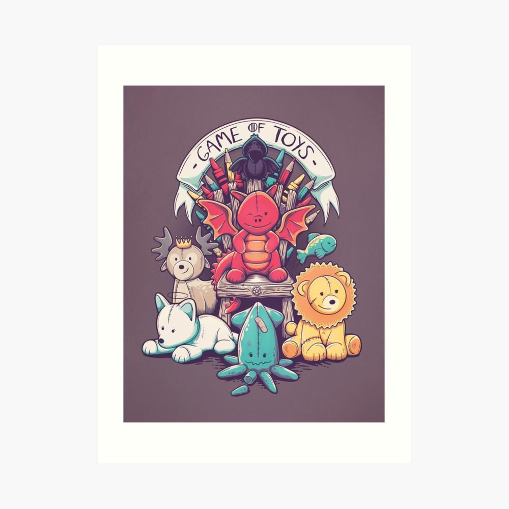Game Of Toys Art Print