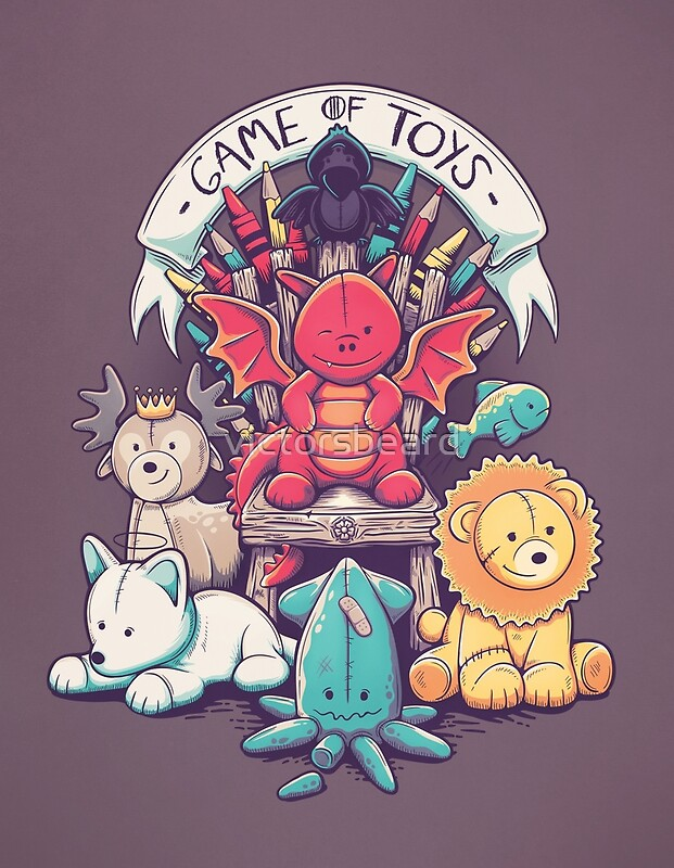 game of toys posters by victorsbeard redbubble